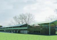 Edificio polifunzionale e stalla