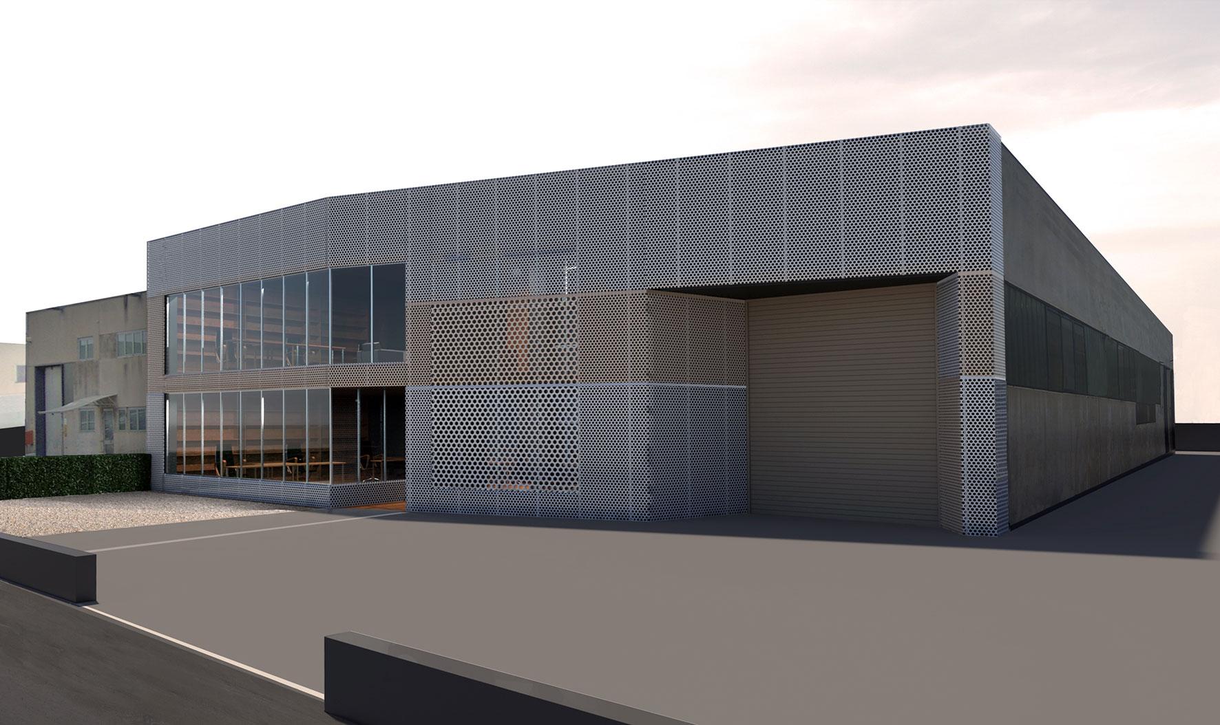 Ampliamento e ristrutturazione edificio produttivo for Studi di architettura
