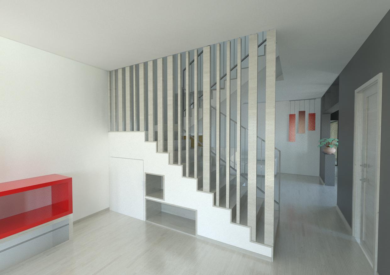 Edificio residenziale for Chiusura vano scala interno