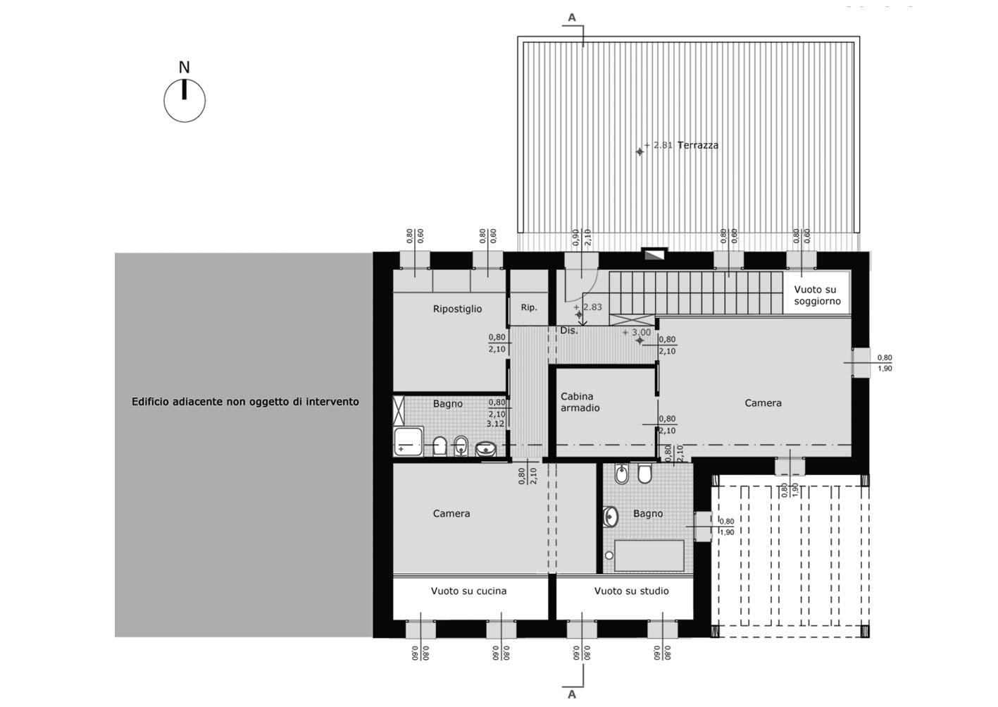ristrutturazione edificio residenziale interno4 studi