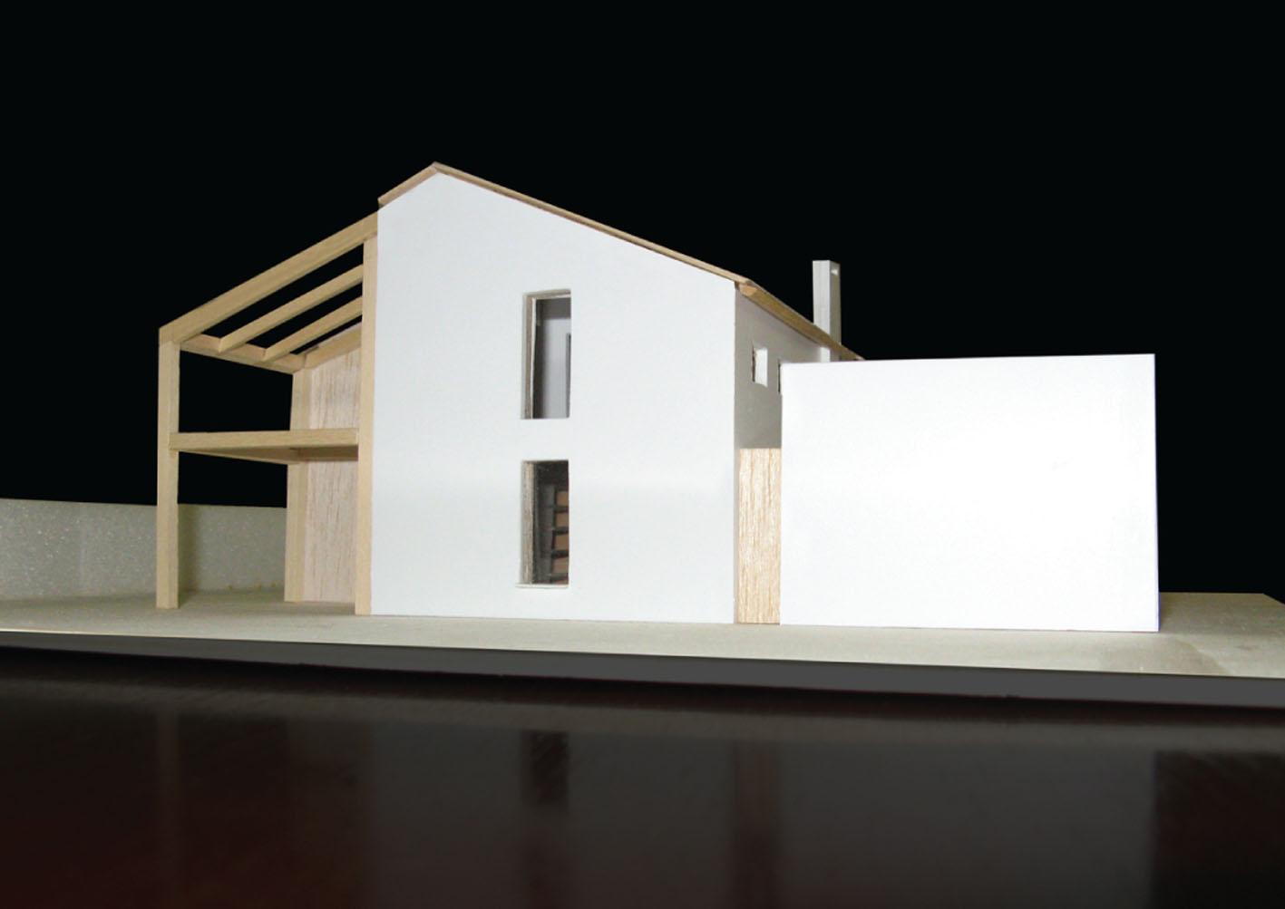 Ristrutturazione edificio residenziale interno4 studi for Piani casa con breezeway tra casa e garage