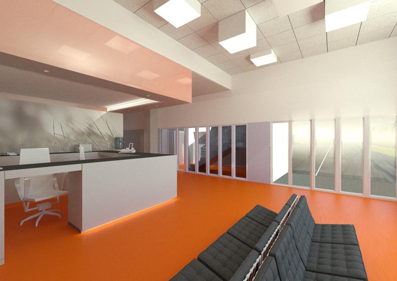 Ristrutturazione centro poliambulatoriale interno4 for Studi di architettura