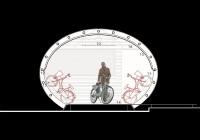Sezione deposito biciclette