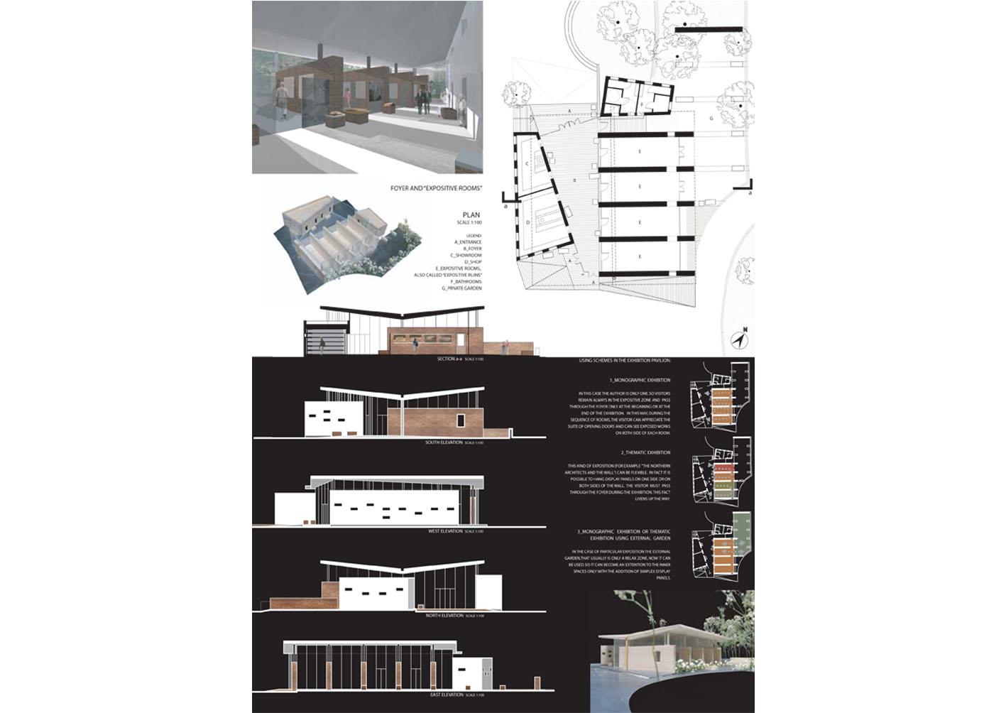 Concorso di idee padiglione hyspalit a venezia interno4 - Tavole di concorso architettura ...