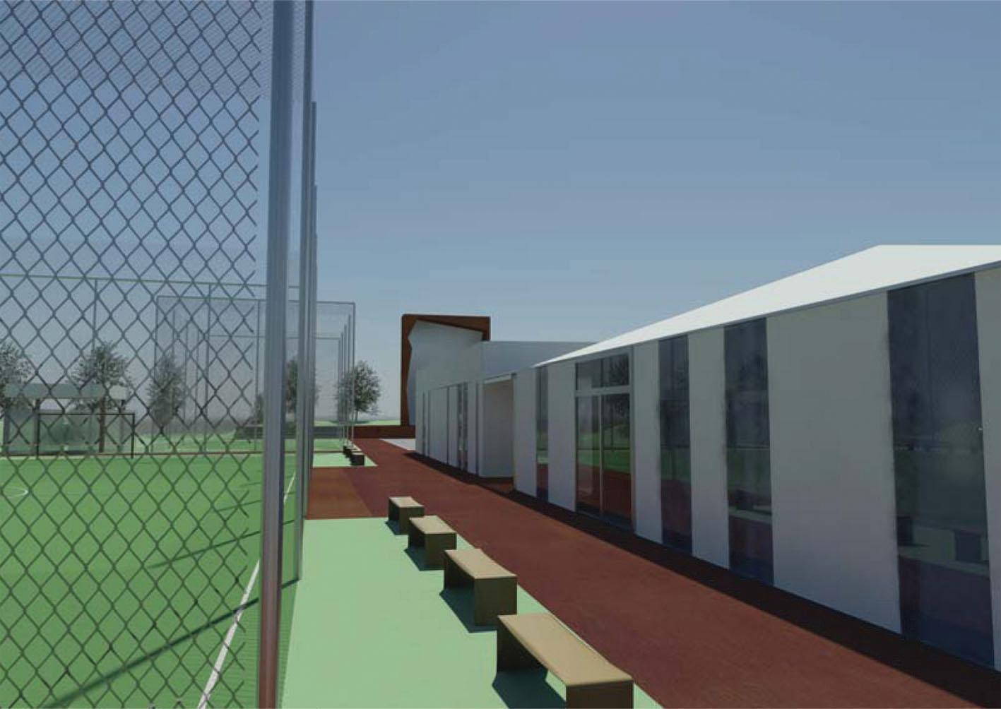 Riqualificazione centro sportivo a correzzola interno4 for Studi di architettura